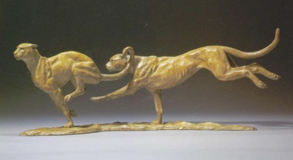 'Cheetahs' by Gill Parker