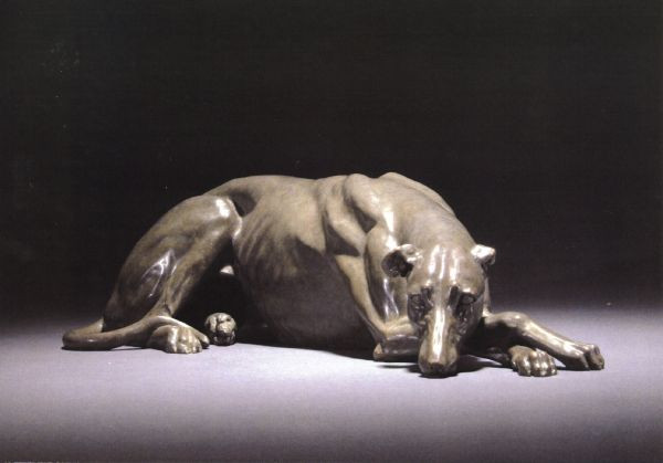 'Greyhound' by Gill Parker